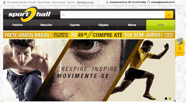 Sport Hall Loja Virtual