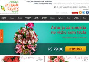 Loja Virtual Ikebana Flores