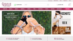 Loja Virtual da Lisbella Calçados Femininos