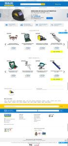 Novo e-commerce da Maxi Ferramentas