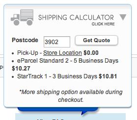 Calculando frete no e-commerce
