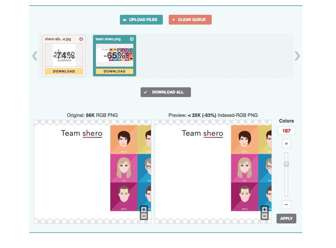 Otimizar imagens pra e-commerce Magento